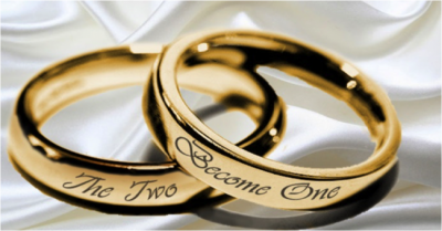 Wedding Rings - Two Become One - Maggie Costello