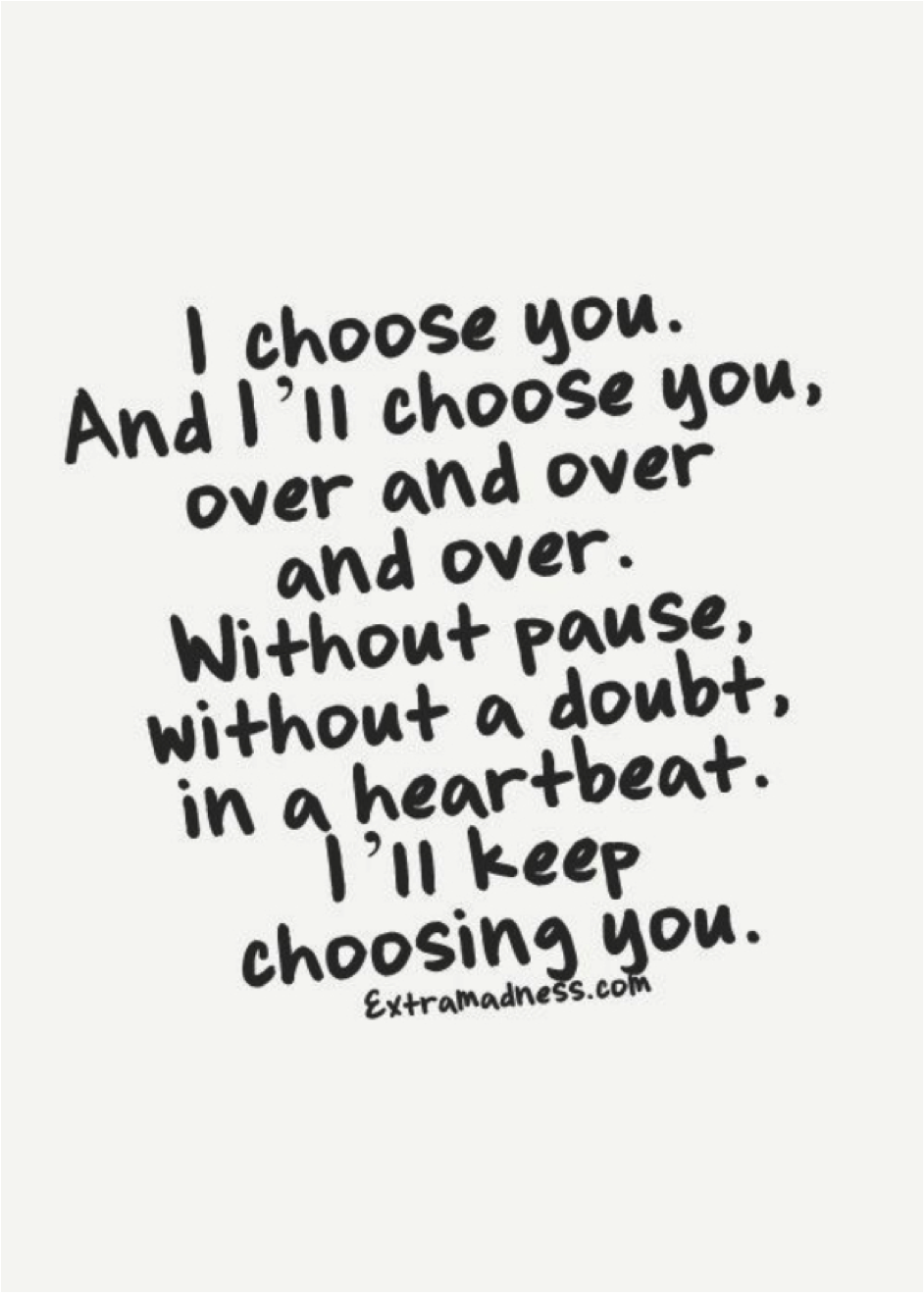 I Choose You - Wedding Words Adelaide